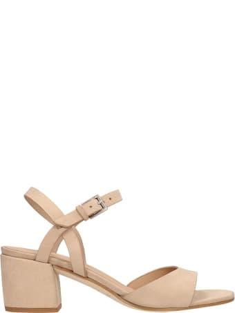 Roberto del Carlo Sand Calf Leather Sandals