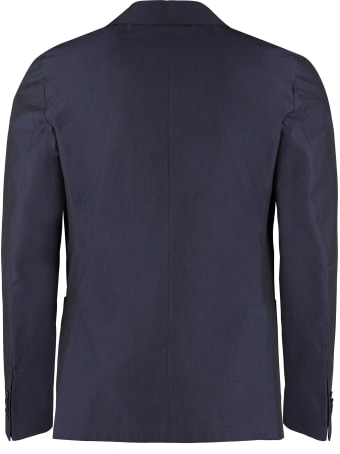 Z Zegna Single-breasted Cotton Blazer