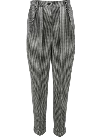J.W. Anderson Jw Anderson Houndstooth Carrot Trousers