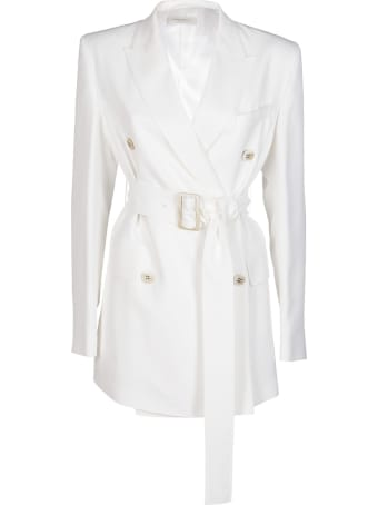 Golden Goose White Viscose Blend Blazer