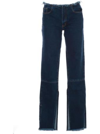 Marques'Almeida Split Hem Jeans