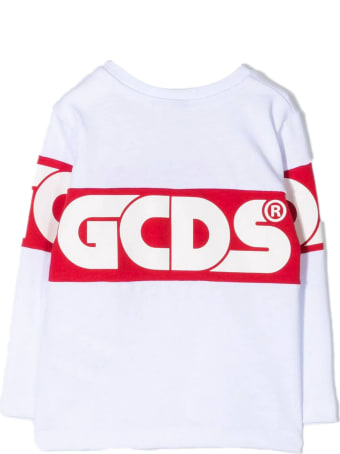 GCDS White Cotton T-shirt