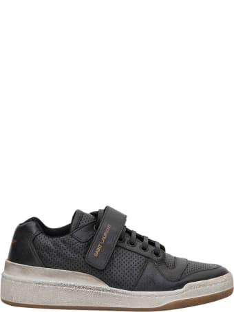 Saint Laurent Sl24 Sneaker Bassa Con Lacci E Strap Low Top
