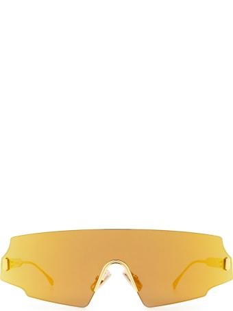 Fendi Fendi Ff 0440/s Gold Sunglasses