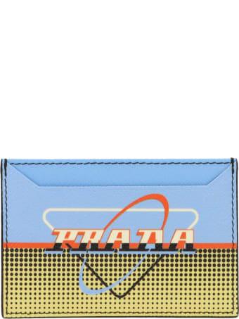 Prada 'oval' Cardholder