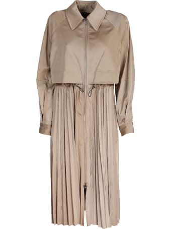 Karl Lagerfeld trench revisited