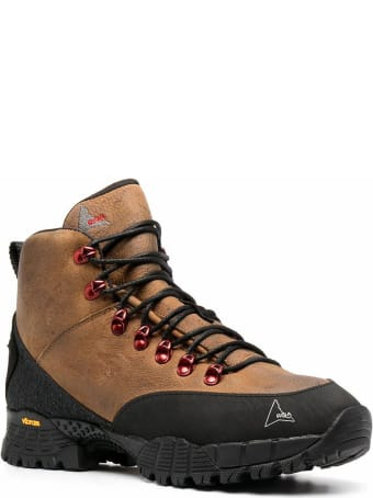ROA Brown Leather Andreas Hiking Boots