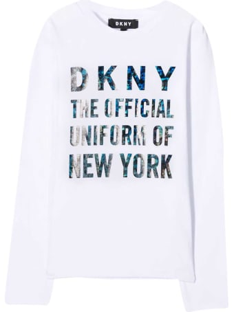 DKNY White Sweatshirt