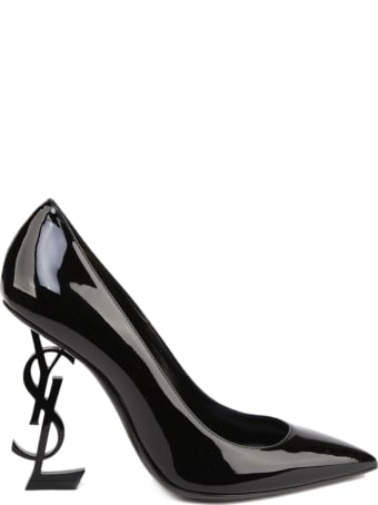 Saint Laurent Opyum Decolleté With Black Patent Heel