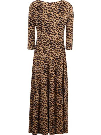 Norma Kamali Leopard Print Dress