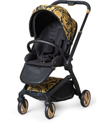 Young Versace Stroller With Baroque Print