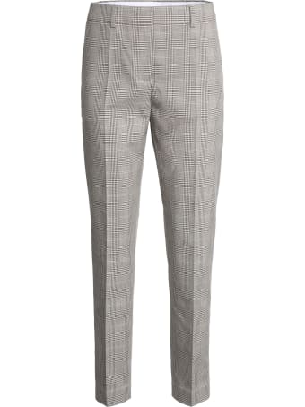 Boutique Moschino Prince Of Wales Checked Trousers
