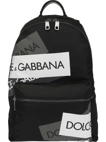 Dolce & Gabbana Logo Tape Backpack