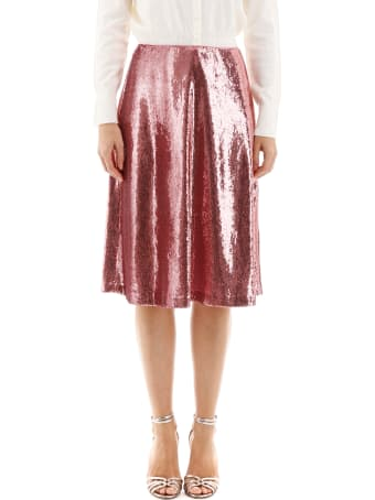 HVN Sequins Viona Skirt