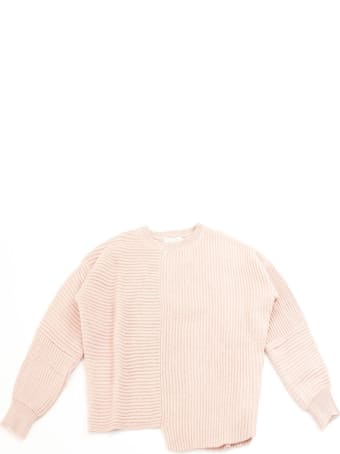 Stella McCartney Pink Cotton-wool Blend Sweater