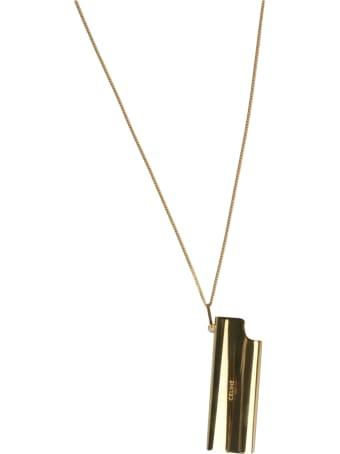 Celine Lighter Case Pendant Necklace