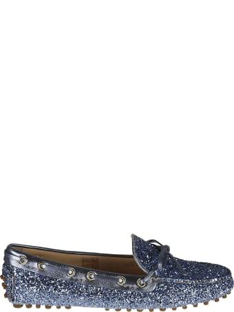 Car Shoe Glitter Embellished Driving Shoes