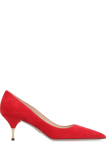 Prada Suede Pumps