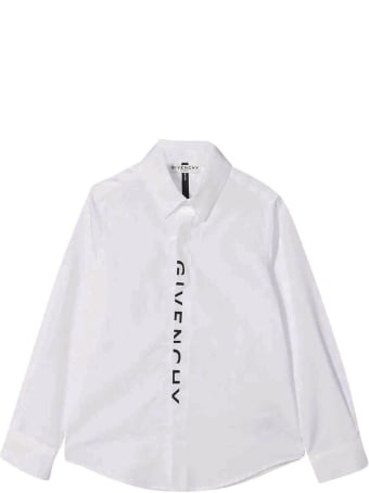 Givenchy White Shirt With Print