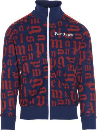 Palm Angels 'broken Monogram Track' Sweater