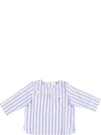 Zhoe & Tobiah Striped Newborn Shirt