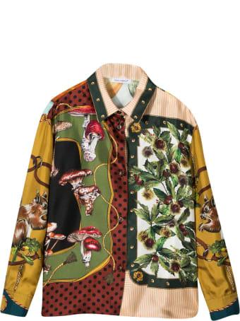 Dolce & Gabbana Multicolor Print Shirt Dolce&gabbana