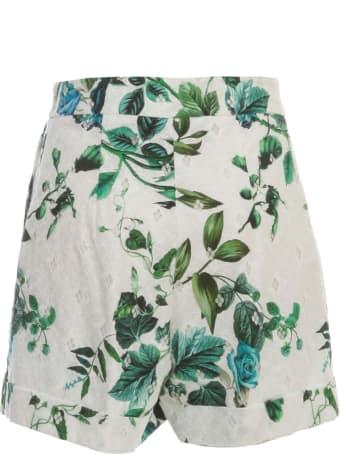 Blumarine Knee Lenght Shorts Sangallo