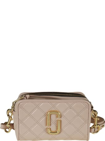 Marc Jacobs Logo Plaque Quilted Camera Bag