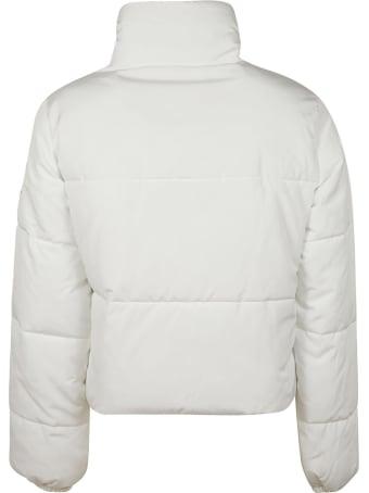 Be Blumarine Tie-neck Padded Jacket