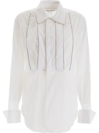 AREA Crystal-embellished Shirt