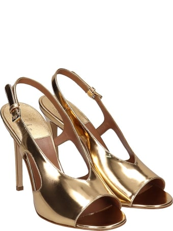 Laurence Dacade Sandals In Gold Leather