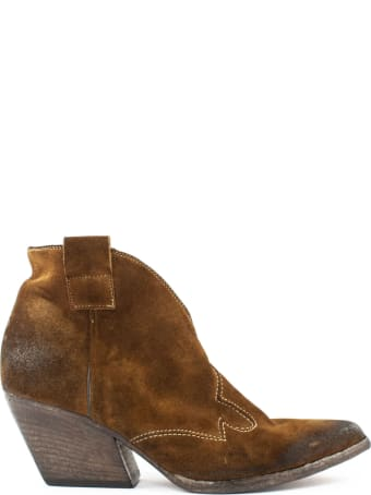 Strategia Texan Suede Ankle Boots