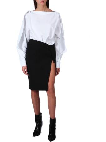 Thierry Mugler Midi Skirt With Split