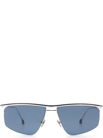 AHLEM Place Des Pyrenees White Gold Sunglasses