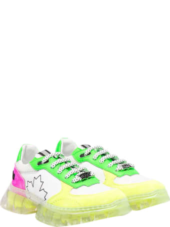 Dsquared2 Sneakers With Color-block Design Teen .