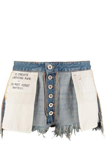 Ben Taverniti Unravel Project Denim Shorts