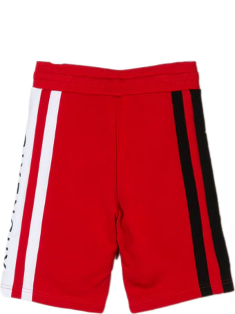 Givenchy Red Cotton Blend Shorts