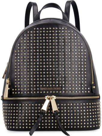 MICHAEL Michael Kors Rhea Studded Leather Backpack