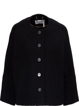 Chloé Boxy Jacket In Wool
