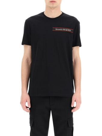 Alexander McQueen T-shirt Logo Tape