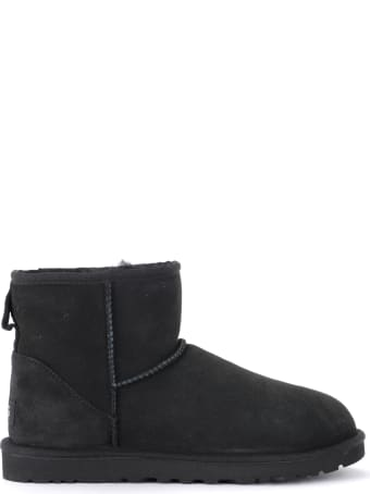 UGG Men's Ankle Boot Classic Ii Mini Black Model