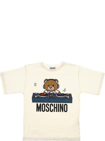 Moschino Tee Maxi Bear Dj Consolle