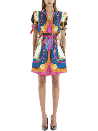Versace 'barocco & Rodeo' Dress