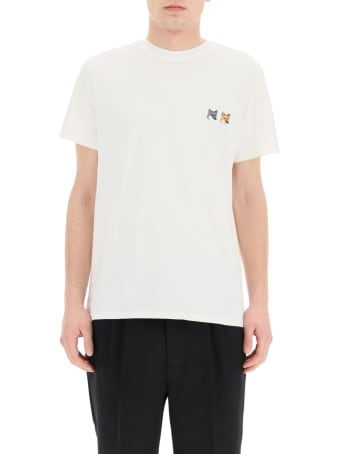 Maison Kitsuné T-shirt With Double Fox Patch