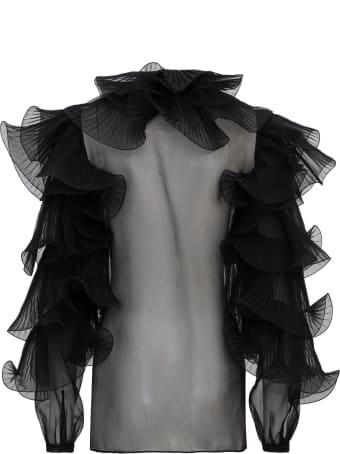 Alberta Ferretti Ruffles Shirt