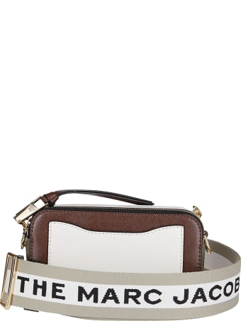 Marc Jacobs Brown Leather Snapshot Crossbody Bag
