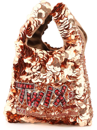 Anya Hindmarch Anya Brands Twix Sequins Mini Tote Bag