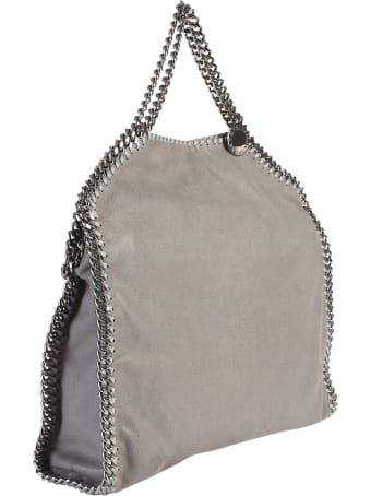 Stella McCartney Grey Falabella Triple Chain Bag