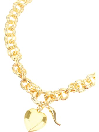 Timeless Pearly Chain Necklace With Pendants