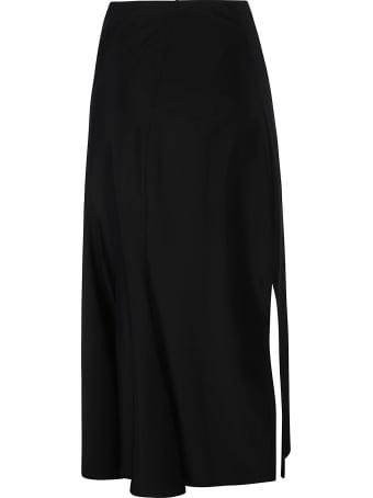 Marine Serre Side Slit Patterned Skirt
